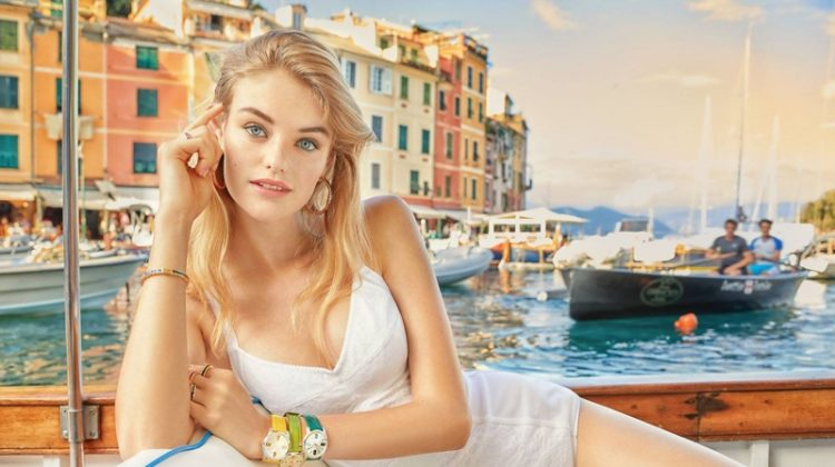 Willow Hand stars in Dolce & Gabbana Watches + Jewelry spring-summer 2019 campaign