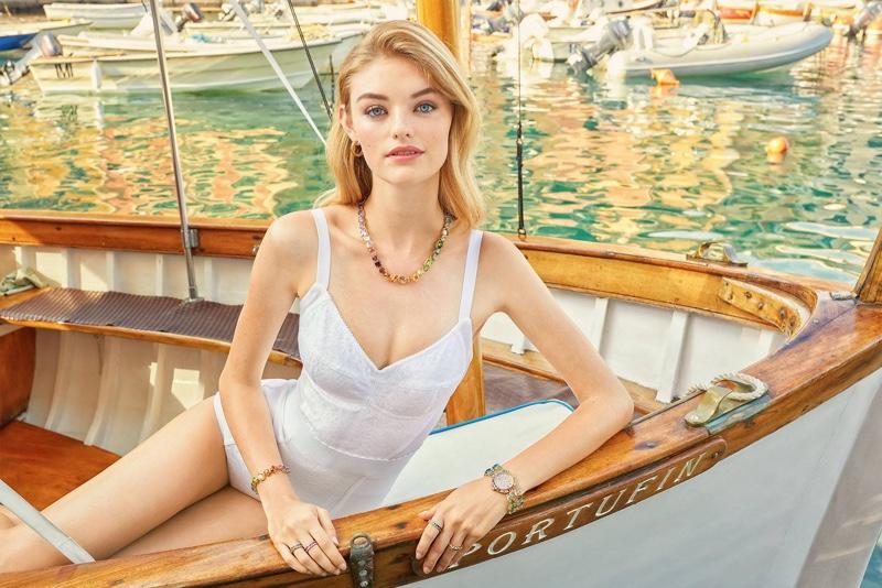 Dolce & Gabbana sets Watches + Jewelry spring-summer 2019 campaign in Portofino