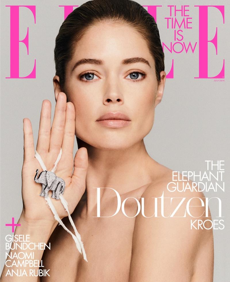 Doutzen Kroes on ELLE US July 2019 Cover