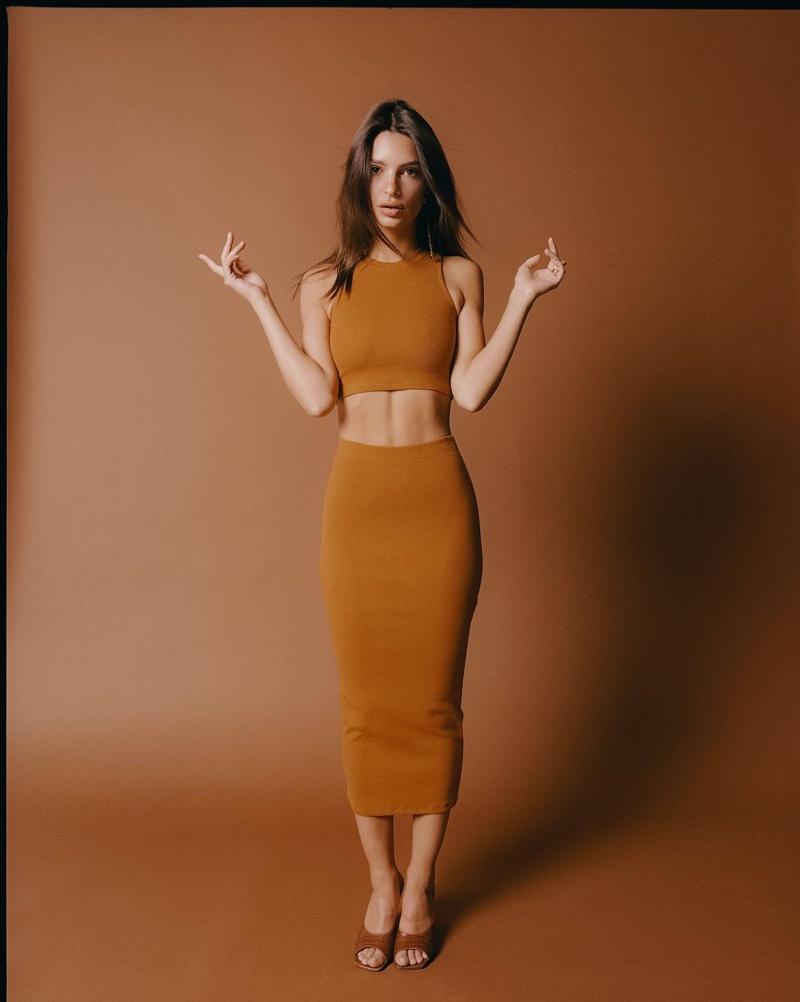 Emily Ratajkowski poses for Inamorata Body summer 2019 campaign