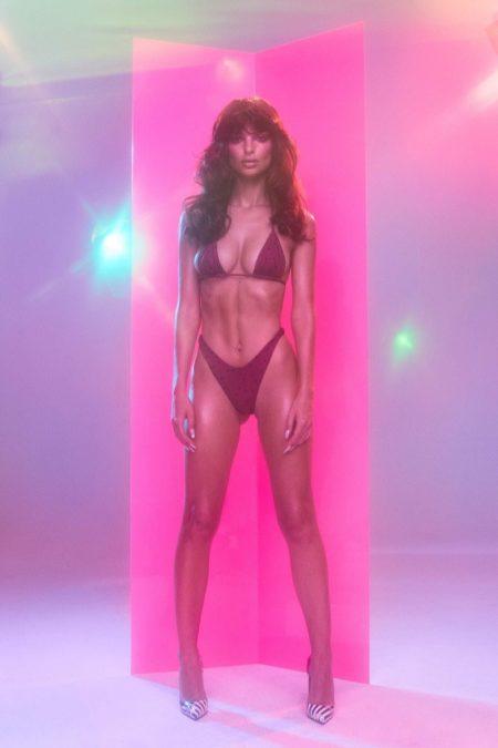 Emily Ratajkowski is a Disco Diva for Inamorata Swimwear