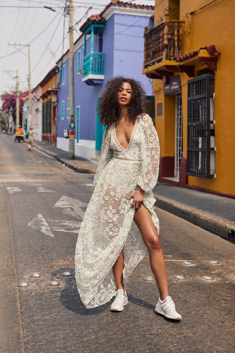 For Love & Lemons spotlights Eclair dress in summer 2019 collection