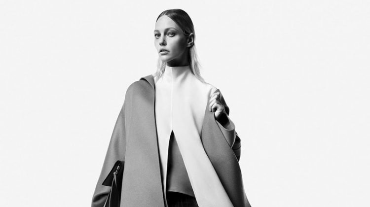 Sasha Pivovarova Fronts Giada Fall 2019 Campaign