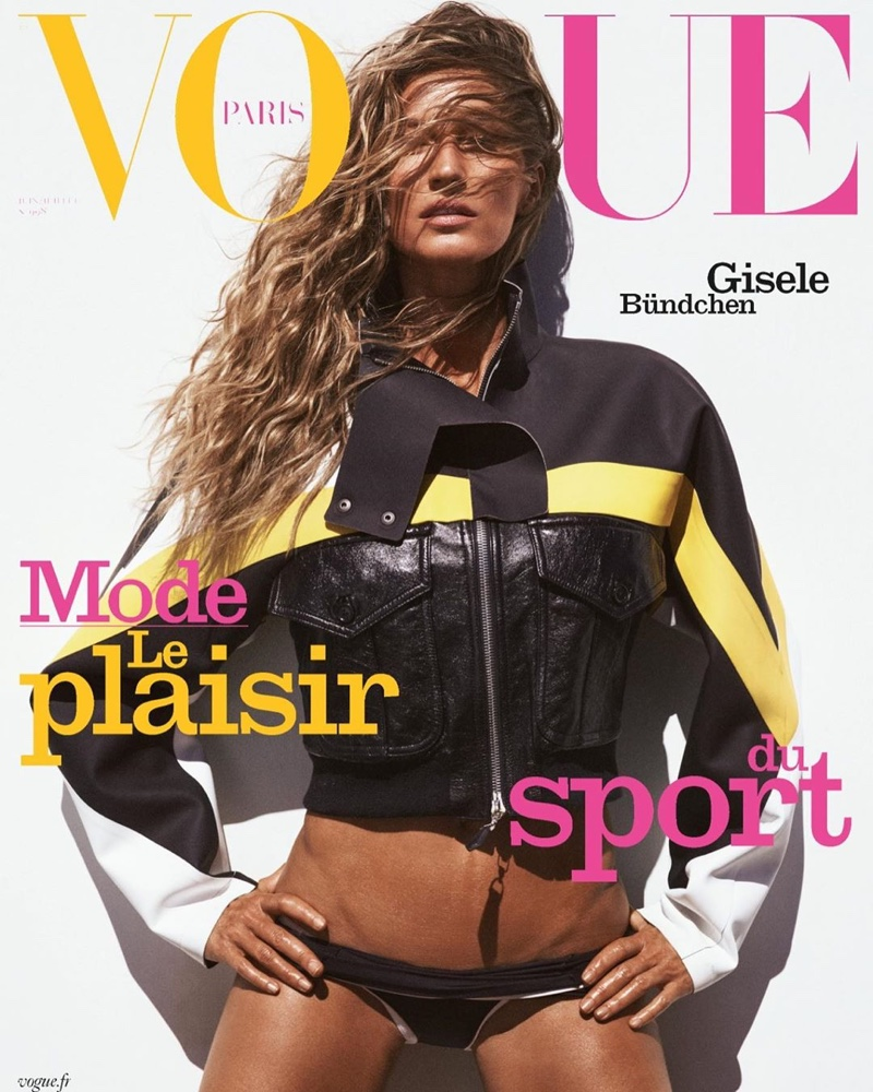 Gisele Bundchen Hits the Beach in Vacation Looks for Vogue Paris