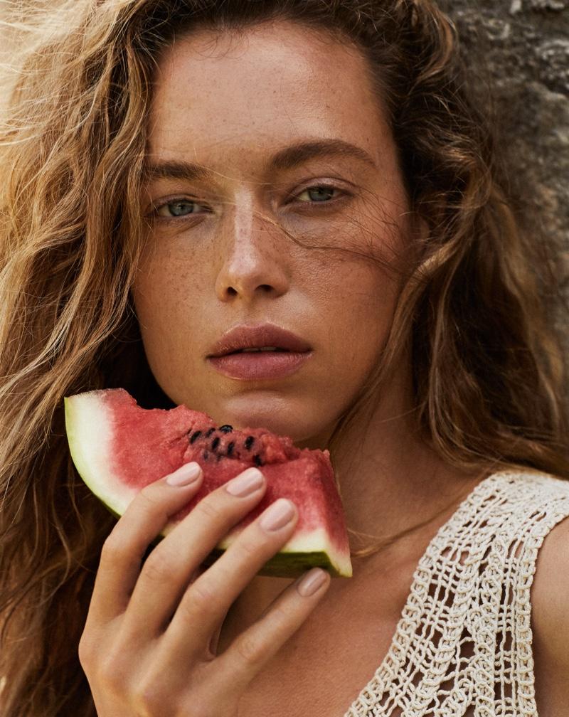 Hannah Ferguson Models Cowgirl Fashion for Vogue Mexico