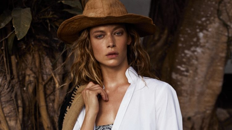 Hannah Ferguson Models Cowgirl Fashion for Vogue Mexico