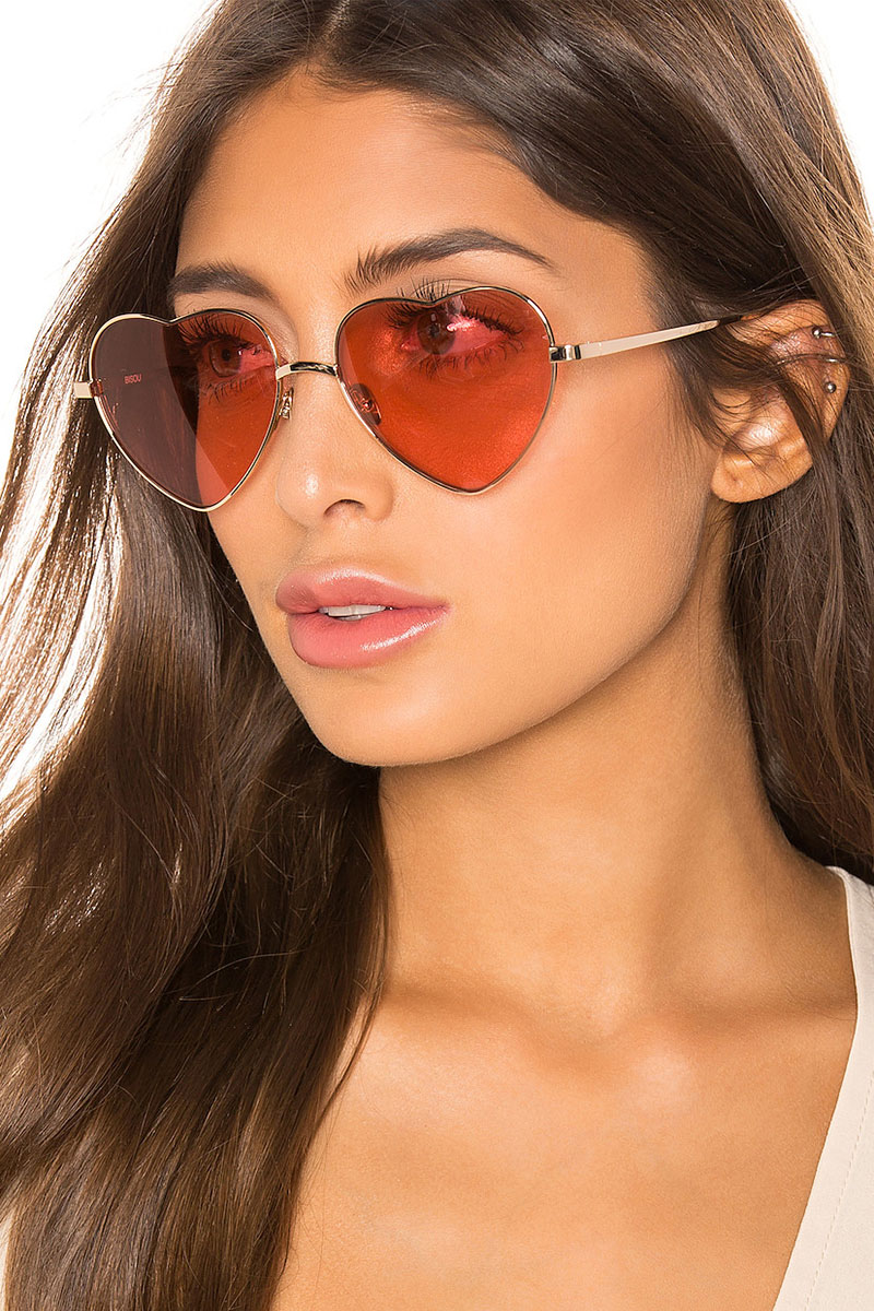 House of Harlow 1960 x REVOLVE Bisou Sunglasses in Pink $98