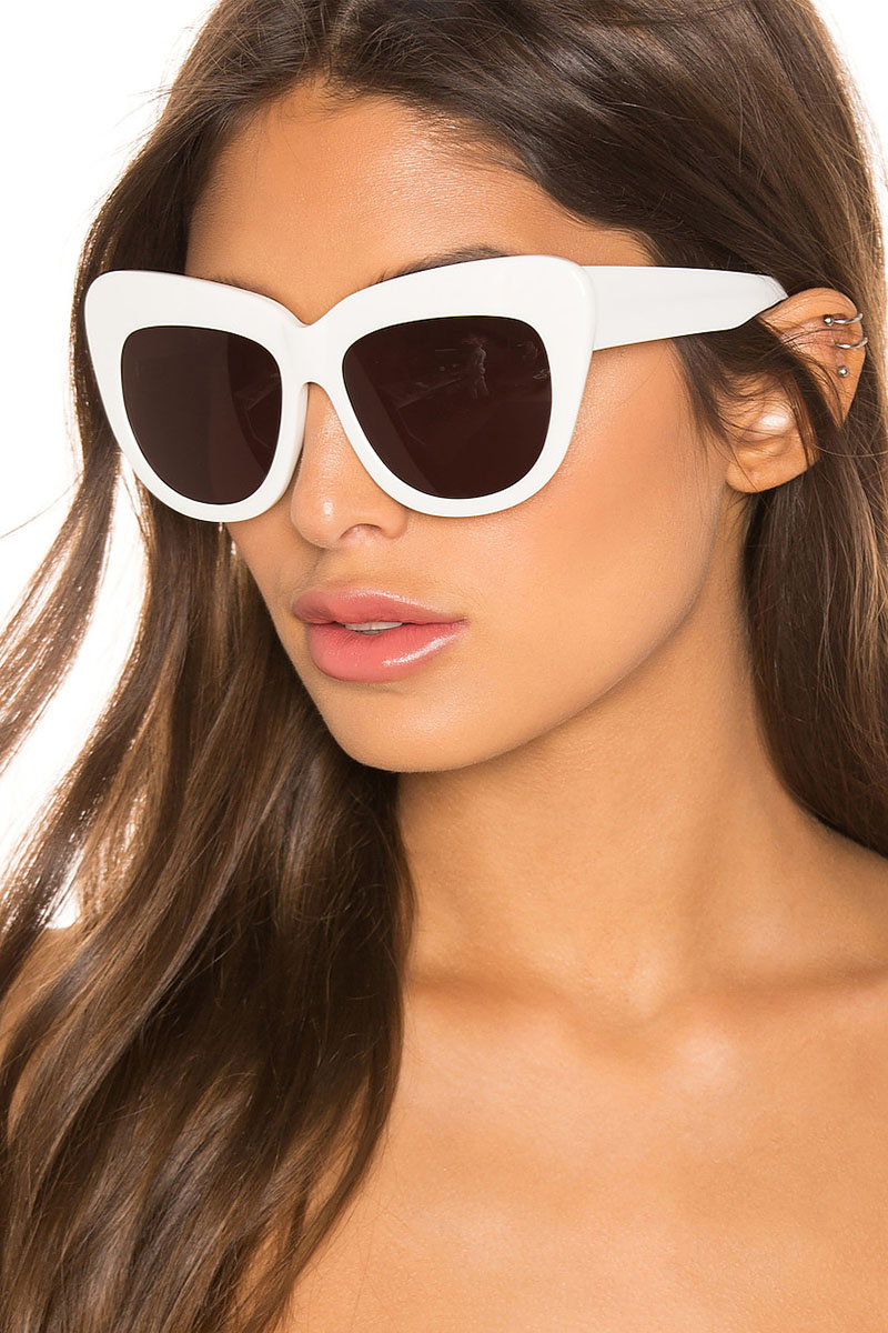 House of Harlow 1960 x REVOLVE Chelsea Sunglasses in White $98