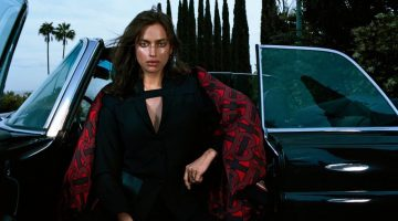 Irina Shayk Models Elegant Looks for Vogue Hong Kong