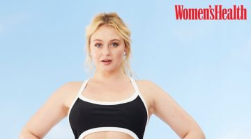 Iskra Lawrence Flaunts Her Curves for Women's Health