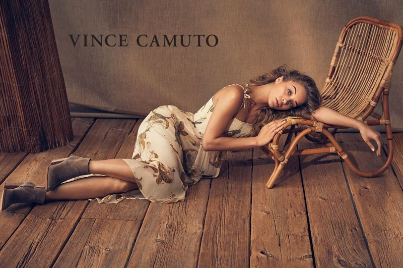 Jasmine Sanders stars in Vince Camuto summer 2019 campaign