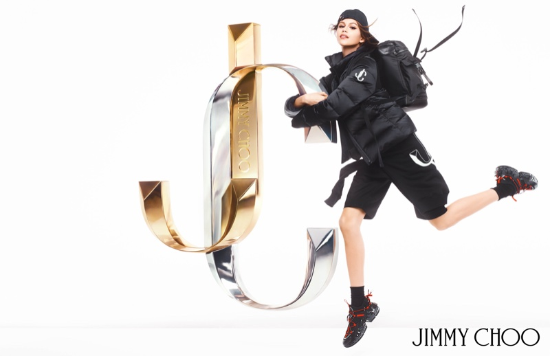 Kaia Gerber takes a leap in Jimmy Choo fall-winter 2019 campaign