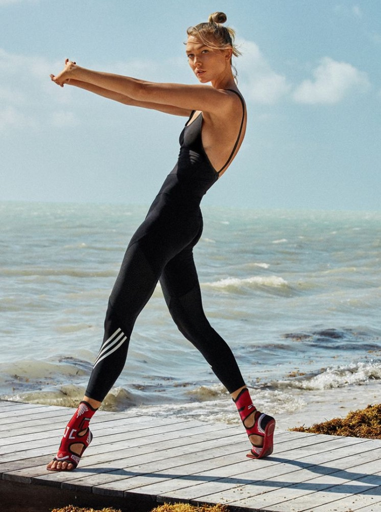Karlie Kloss Poses in Sporty Chic Looks for Vogue Paris