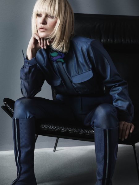 Kate Moss stars in Giorgio Armani fall-winter 2019 campaign