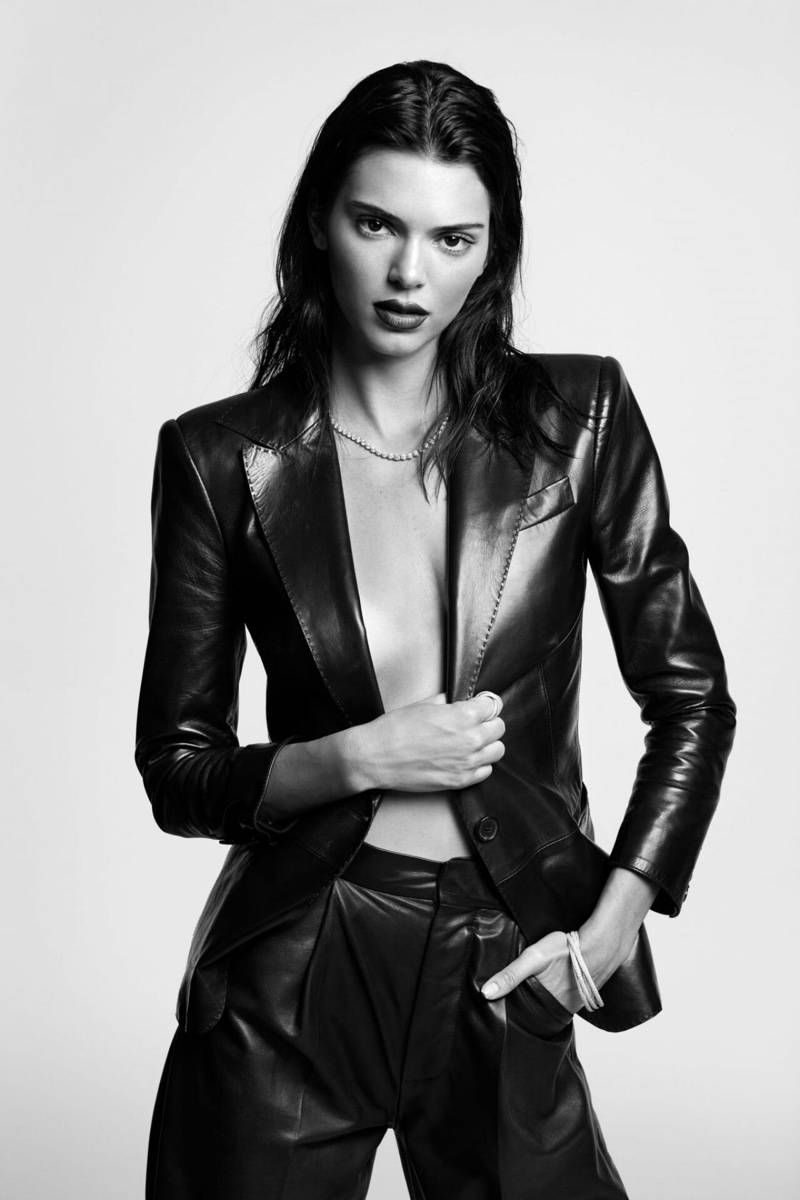 Kendall Jenner Gets Ready for Her Closeup in L'Officiel