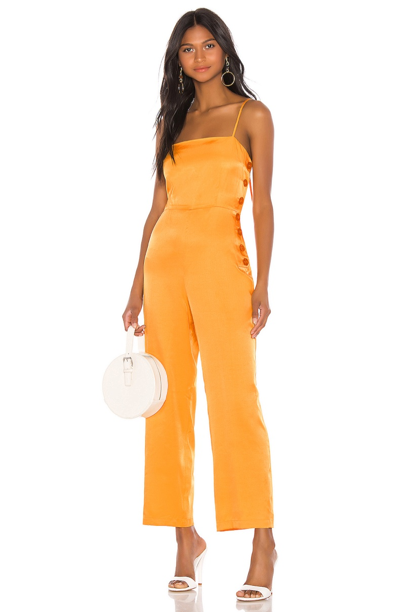 L'Academie The Charleen Jumpsuit $218
