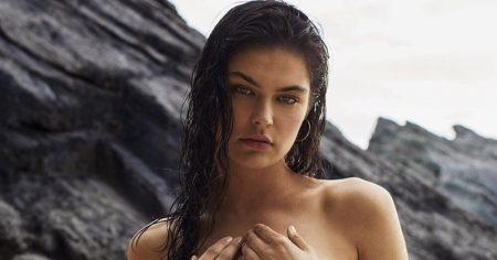 Lauren Layne Models Season 2 Of Her Swimsuit Line