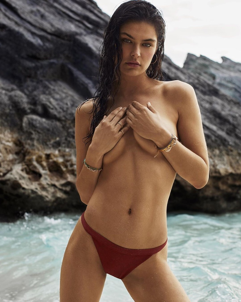 Model Lauren Layne unveils the second season of her swimsuit line