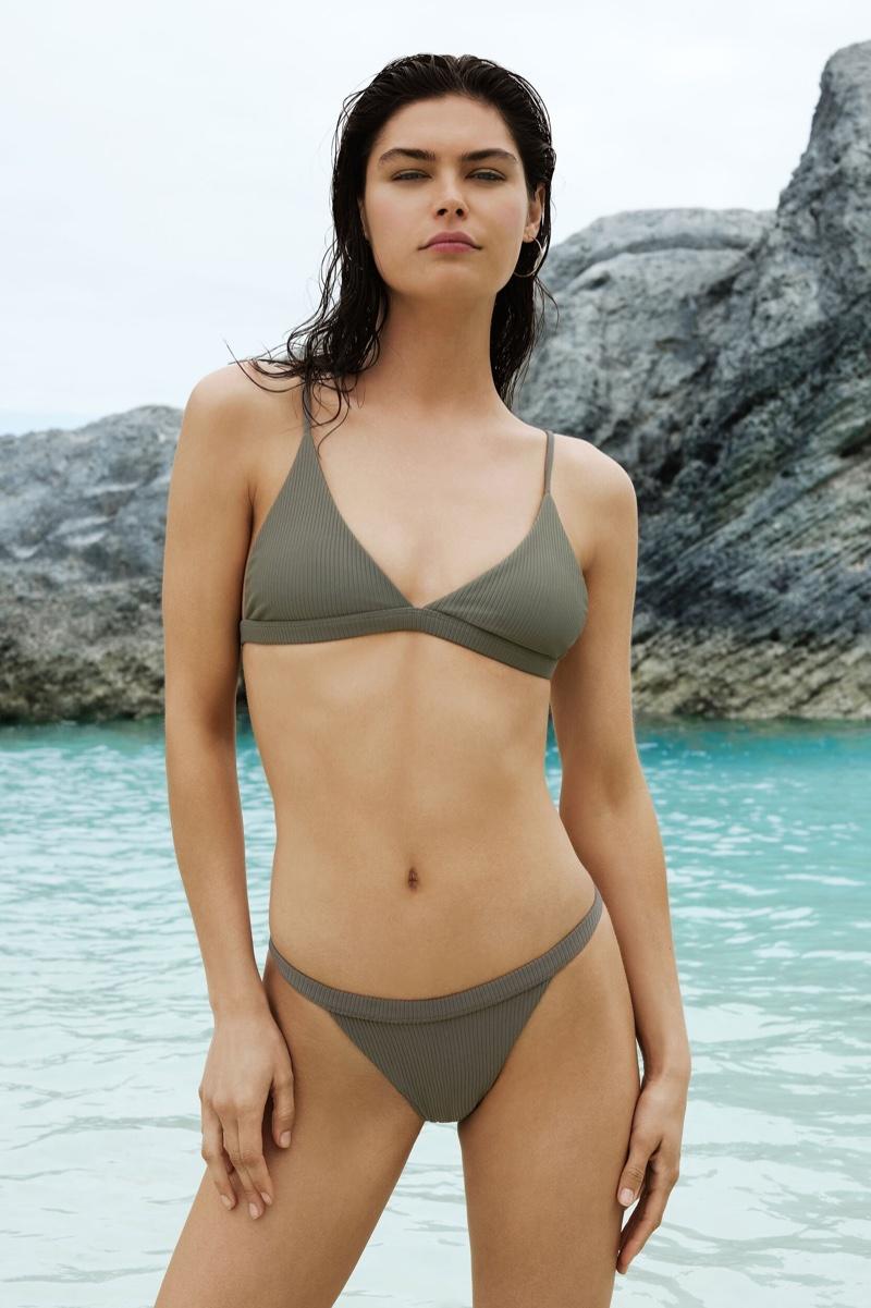 A bikini look from Lauren Layne Swim spring-summer 2019 collection