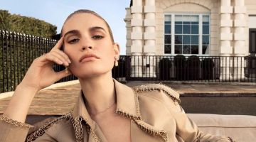 Lily James fronts My Burberry fragrance campaign for 2019