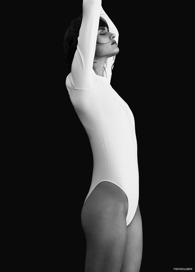 Karen Millen Bodysuit. Photo: Jeremy Choh