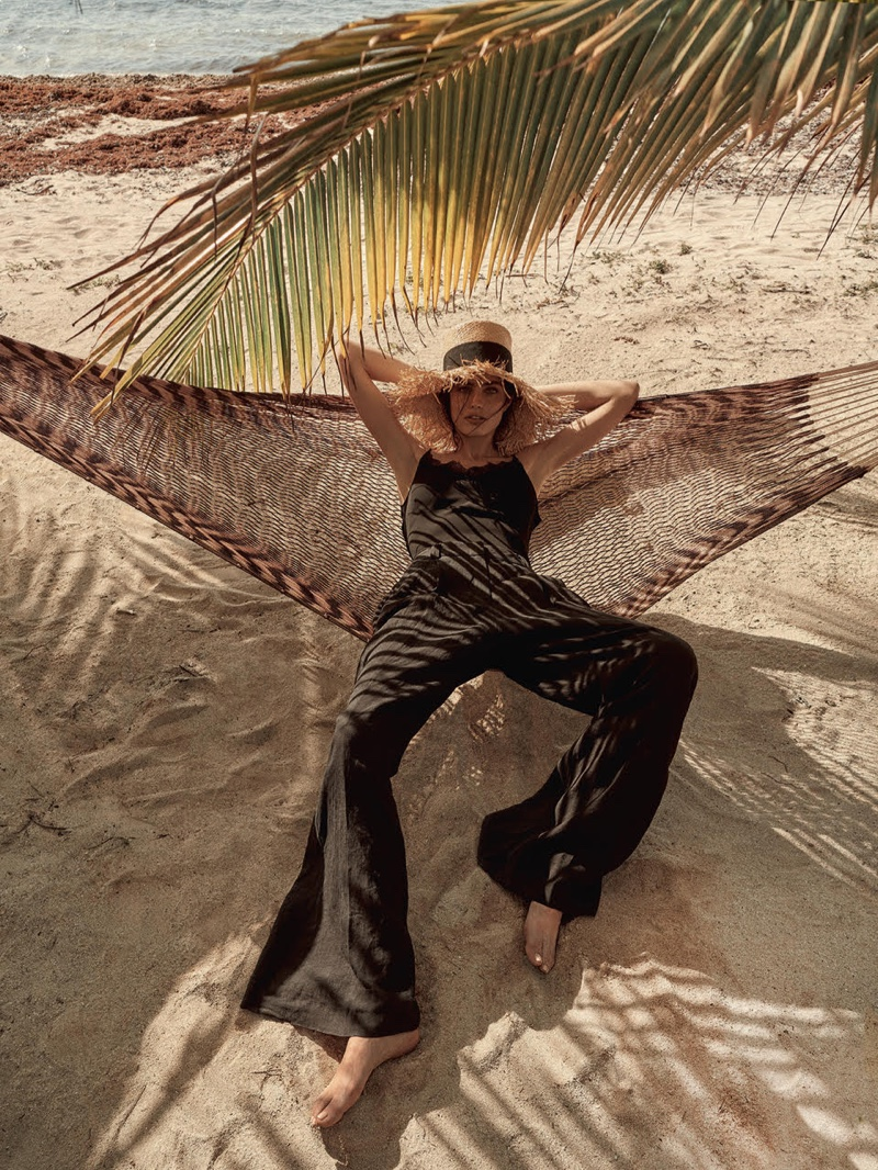 Marinet Matthee Poses in Vacation-Ready Looks for TELVA Magazine