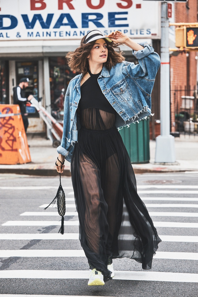 Marta Ortiz Models Cool Street Style for Grazia Italy