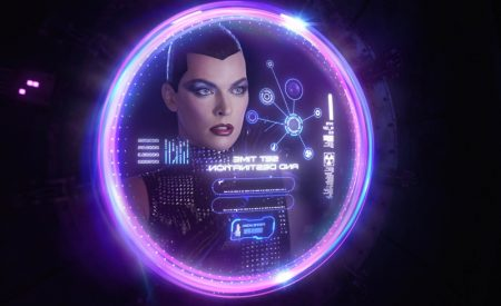 Milla Jovovich Channels Sci-Fi Vibes for V Magazine