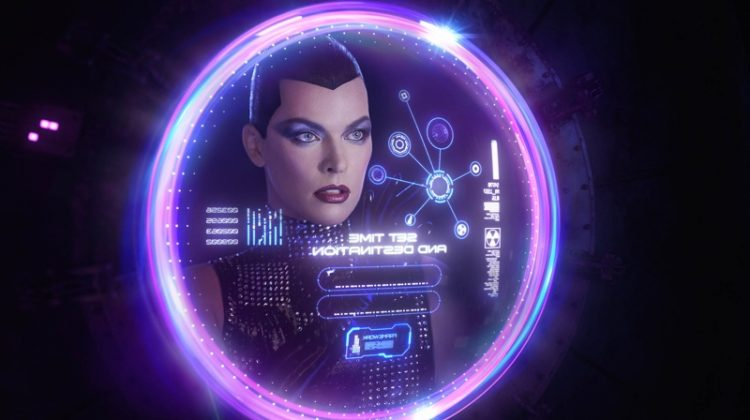 Milla Jovovich Channels Sci-Fi Vibes for V Magazine