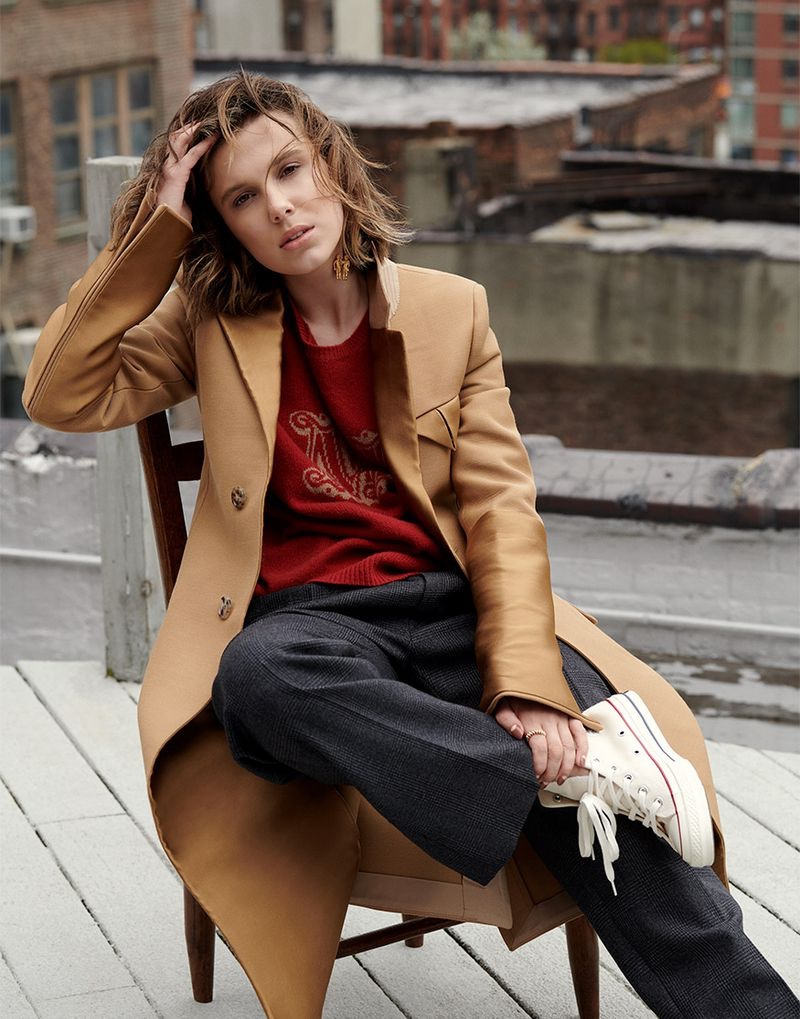 The Stranger Things star poses in a fashion shoot