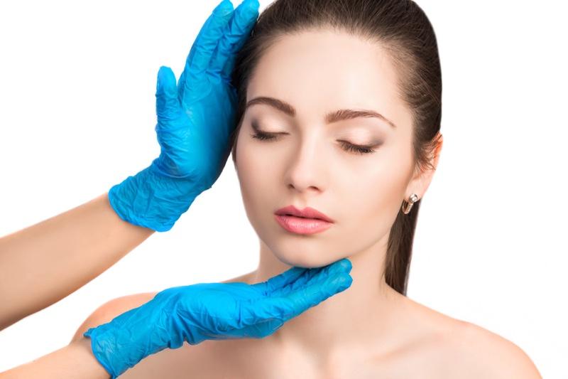 Model Beauty Consultation Gloves
