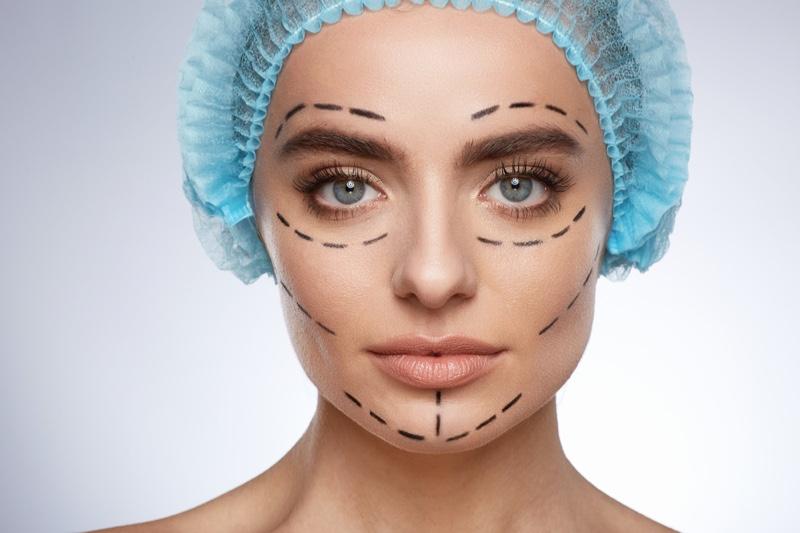 Model Plastic Surgery Lines
