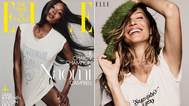 Naomi! Gisele! Doutzen! Anja! See ELLE's July Cover Stars