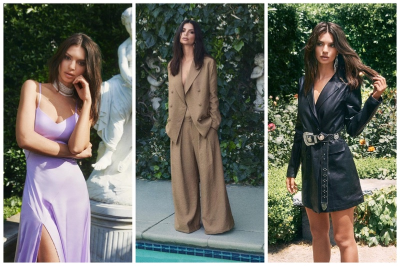 Emily Ratajkowski x Nasty Gal clothing collaboration