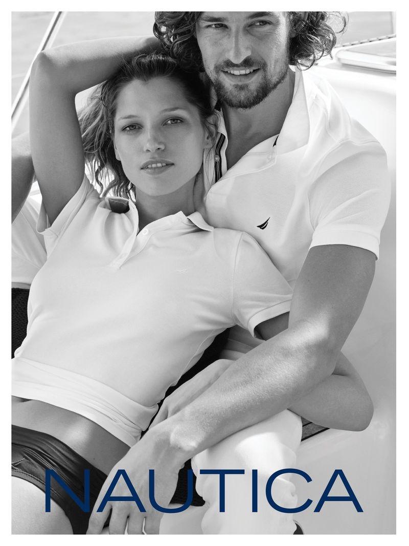 Hana Jirickova and Wouter Peelen front Nautica summer 2019 campaign