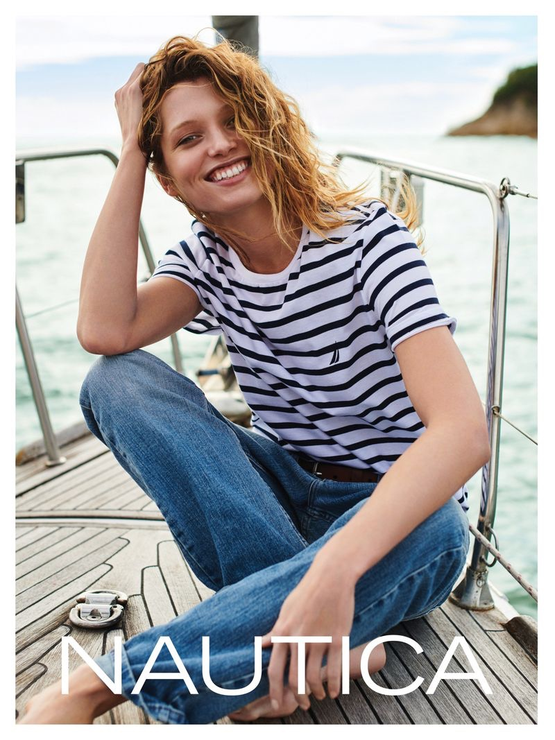 Nautica features bold stripes in summer 2019 campaign