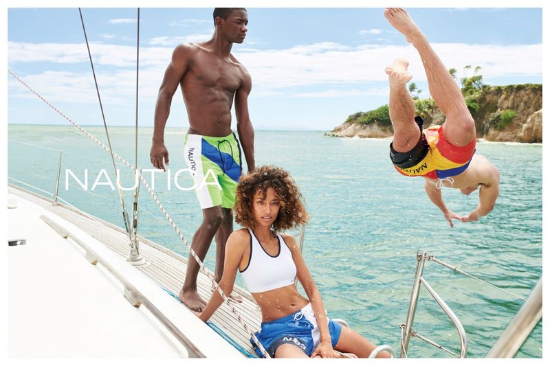 An image from the Nautica summer 2019 advertising campaign