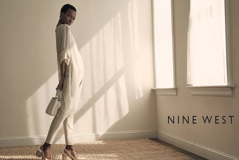 An image from Nine West summer 2019 advertising campaign