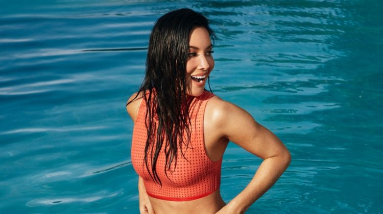 Olivia Munn Sports Summer Swimwear for Women's Health