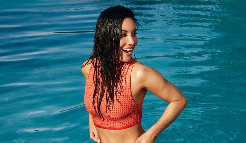 Olivia Munn Sports Summer Swimwear for Women's Health