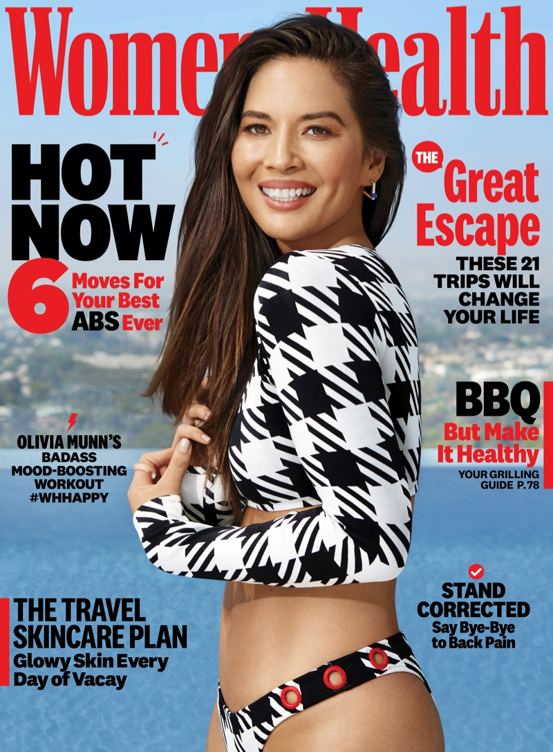 Olivia Munn on Women's Health July/August 2019 Cover