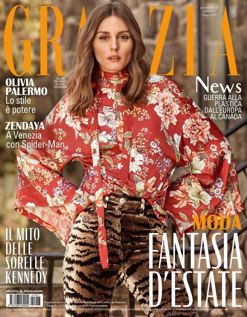 Olivia Palermo on Grazia Italy June 20th, 2019 Cover