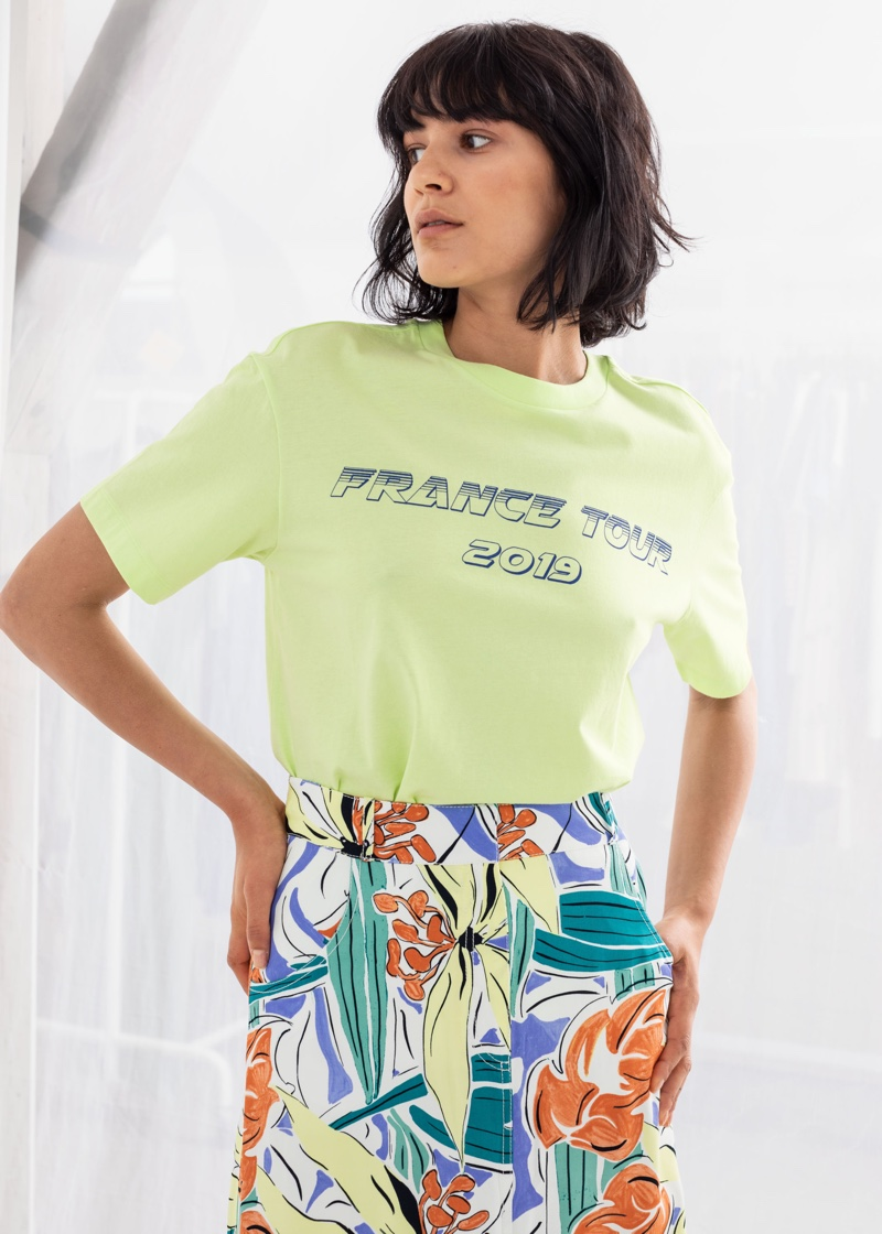 & Other Stories France Tour 2019 Tee $29