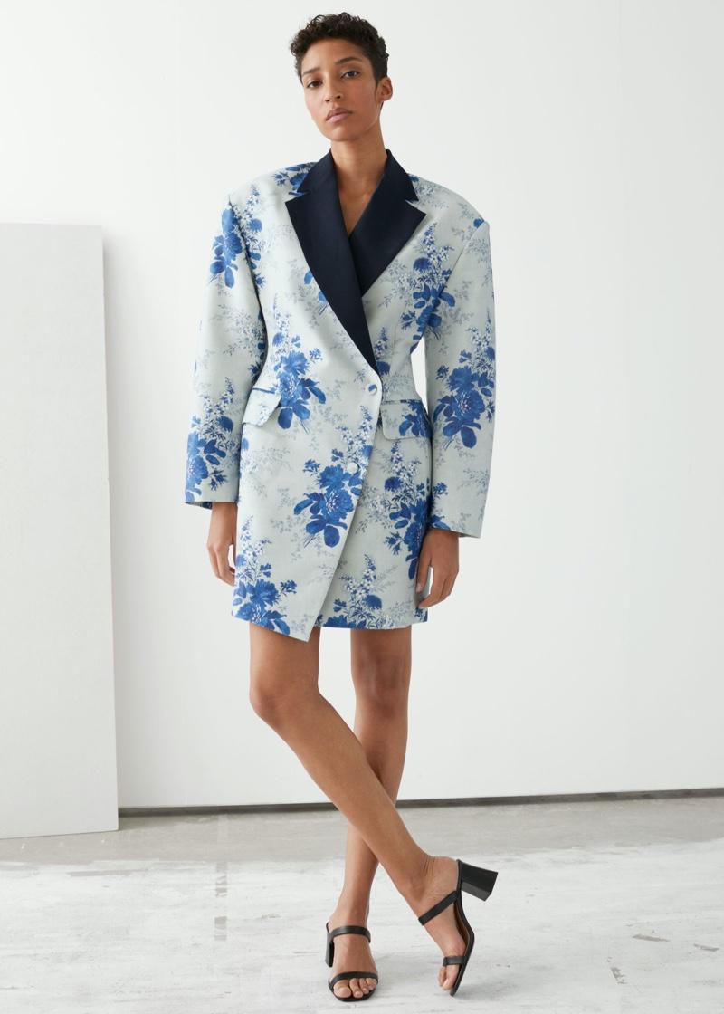 & Other Stories Oversized Blazer Mini Dress $219