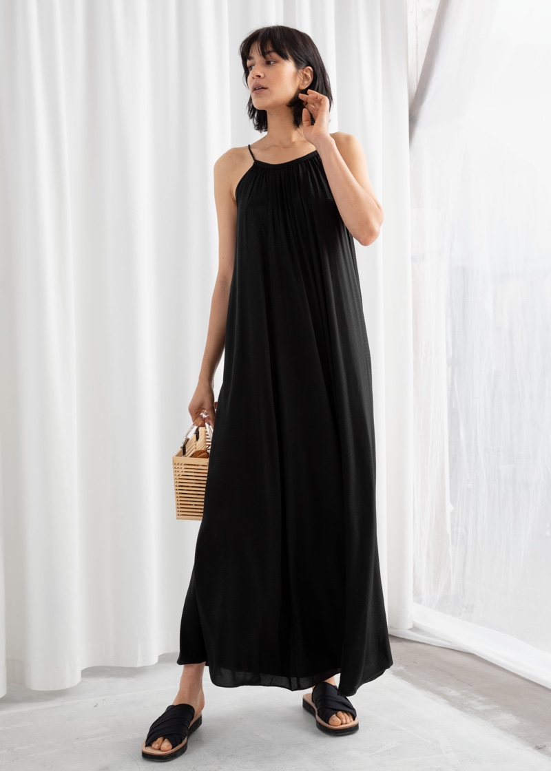 & Other Stories Rope Strap A-Line Maxi Dress $149