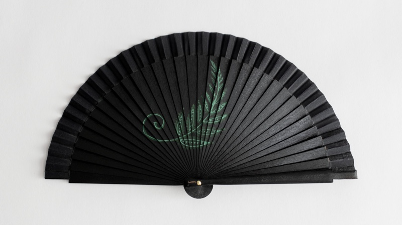 & Other Stories Wooden Fern Fan $119
