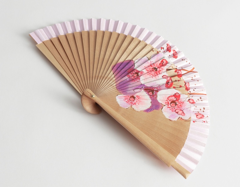 & Other Stories Wooden Flower Fan $119