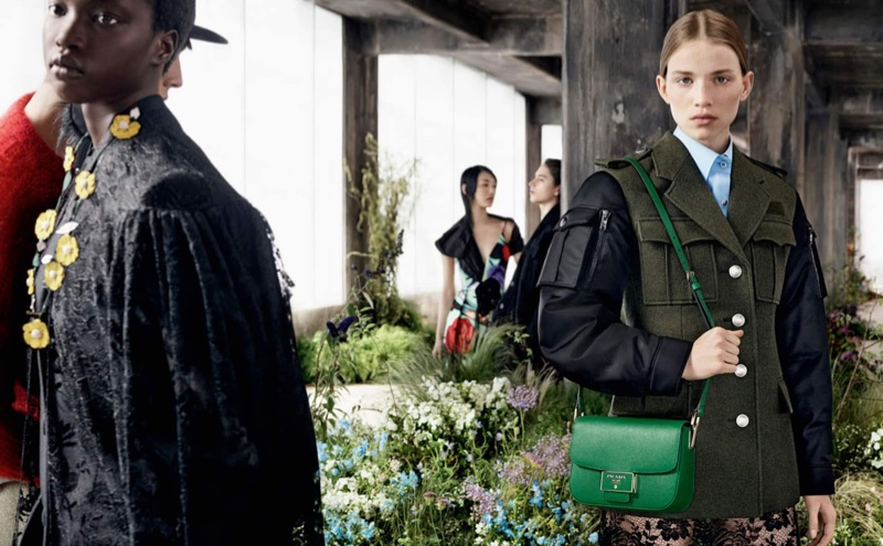 An image from the Prada fall 2019 advertising campaign