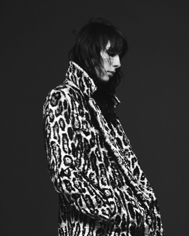 Animal print stands out in Saint Laurent fall 2019 campaign