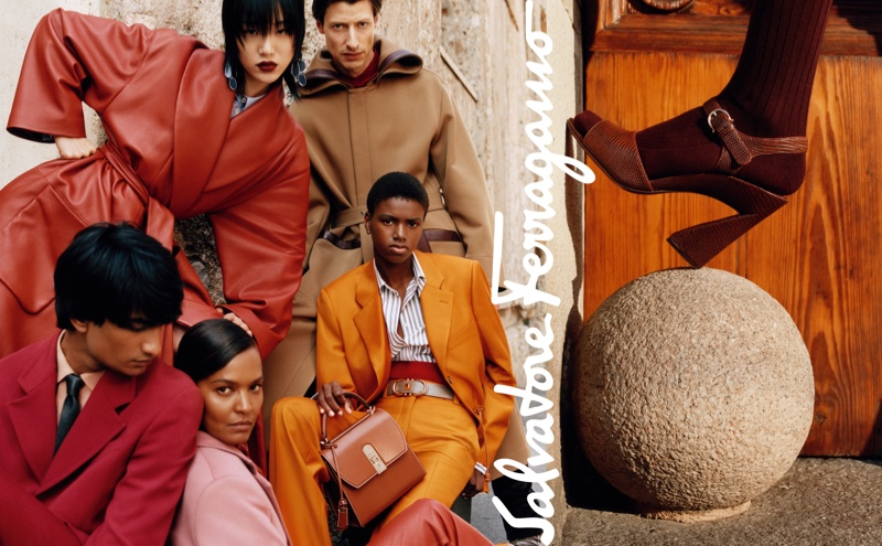 An image from the Salvatore Ferragamo fall 2019 advertising campaign